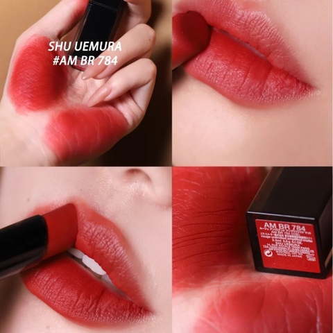 Son Shu Uemura Rouge Unlimited Amplified Matte AM BR 784