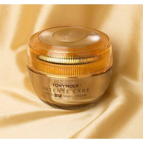 Kem dưỡng Intense Care Gold 24K Snail Cream Tony Moly
