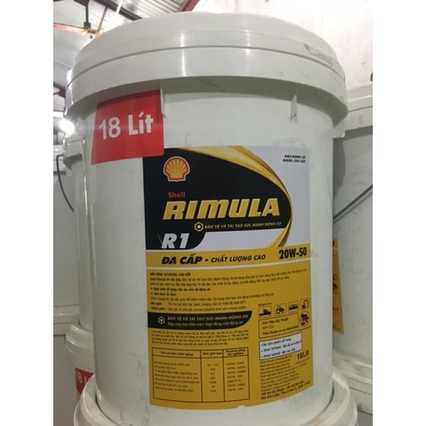 Engine lubricant Shell Rimula R1 20w50