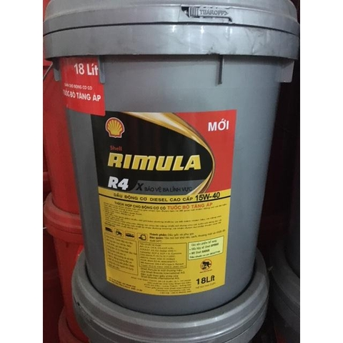 Engine lubricant turbo Shell Rimula R4 15w40
