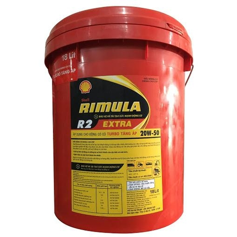 Engine lubricant turbo Shell Rimula R2 20w50