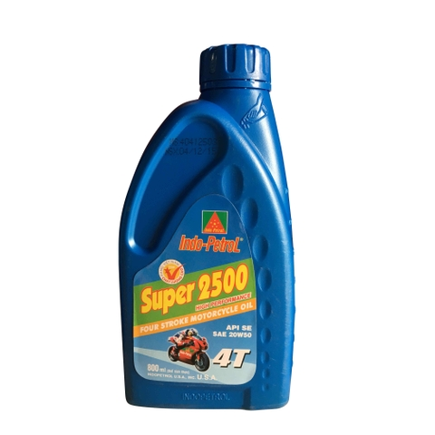 Lubricant 4T super 2500 SE 0.8 lít Indo-petrol