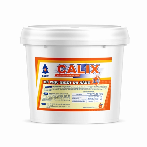 Multipurpose lithium grease CALIX L4 2kg