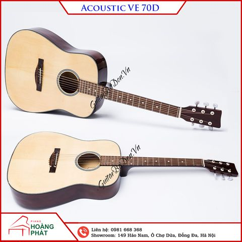Guitar Acoustic VE-70D