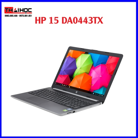 Laptop HP 15 da0443TX i3 7020U/4GB/SSD 240GB/ VGA /Win10
