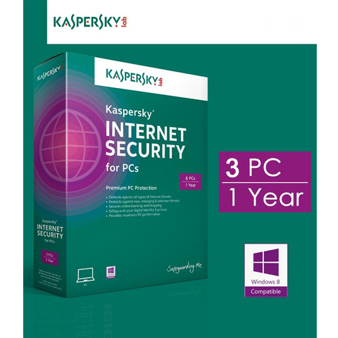 Kaspersky Internet Security - 3PC/1Năm (2020)