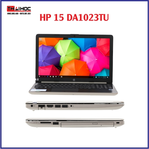 LAPTOP HP 15 da1023TU i5 8265U/4GB/SSD 256Win10