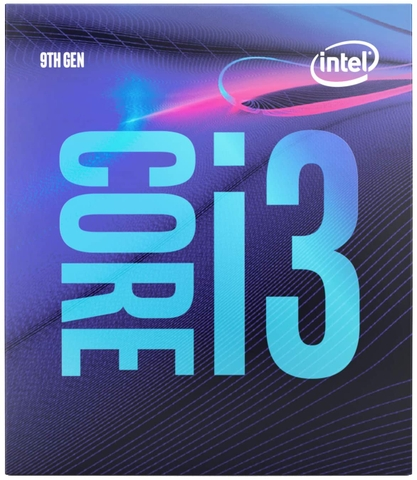 CPU Intel Core i3-9100 (3.6GHz Turbo Up To 4.2GHz, 4 nhân 4 luồng, 6MB Cache, Coffee Lake)