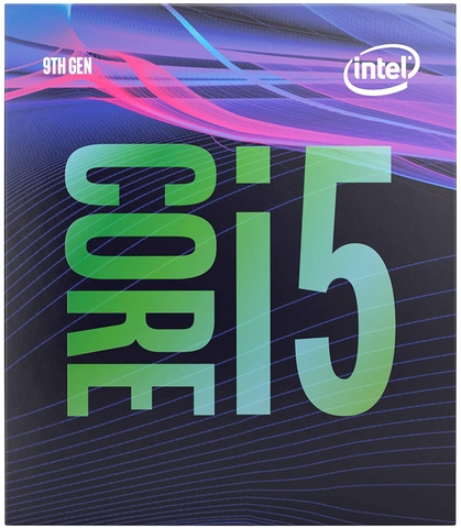 CPU Intel Core i5 9400F (2.9GHz Turbo Up To 4.1GHz, 6 nhân 6 luồng, 9MB Cache, Coffee Lake)