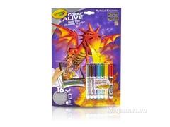 Crayola Bộ tranh tô màu thần kỳ Rồng lửa