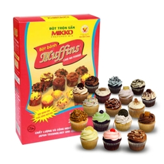 Bột trộn sẵn Muffins Mikko 200g