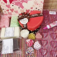 Kit chocolate Handmade Valentine Heart by Heart