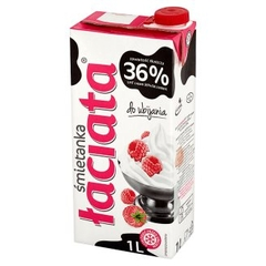 Whipping cream Laciata 1L 36%