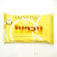 Chocolate compound Ivory vàng vị caramel Grand Place 1kg