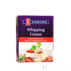 Whipping cream Emborg 35,1% 200ml