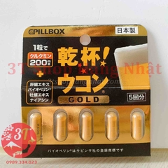 Giải rượu UKON GOLD PILLBOX