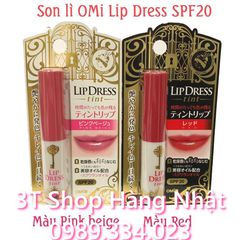 Son OMi Lip Dress tint siêu lì SPF20
