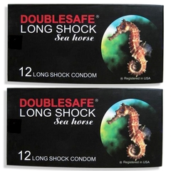 Bao cao su chống xuất tinh sớm double safe longshock