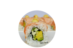 60 Aburi Salmon Cheese Roll