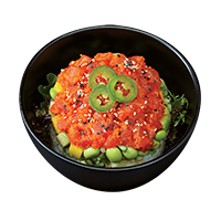 POKE1. SPICY TUNA & SALMON
