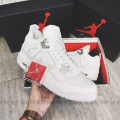 GIÀY JORDAN 4 ALL WHITE