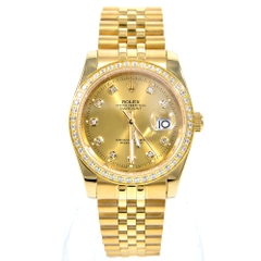 Đồng Hồ Nữ automatic Rolex Oyster Full Gold RL02 ( cơ )