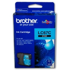 MỰC IN BROTHER LC 67 CYAN INK CARTRIDGE