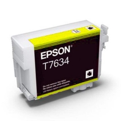MỰC IN PHUN EPSON C13T763400 YELLOW