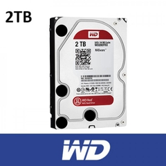 ổ cứng HDD WD 2TB WD20EFRX Sata3 (Đỏ)