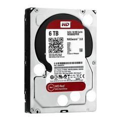 ổ cứng HDD WD 6TB WD60EFRX Sata 3 (Đỏ)