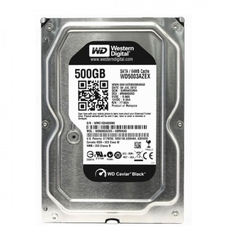 Ổ cứng HDD Western Digital Caviar Black 500GB 3.5-inch
