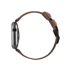 UAG Apple Watch 44mm/42mm Leather Strap Brown