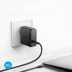 Combo Anker Power Delivery: Pin Dự Phòng Anker PowerCore Speed 20000 PD + Sạc Anker PowerPort Speed 1 USB-C, 30w - A2014