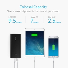 Pin dự phòng Anker PowerCore+ 26800, Quick Charge 3.0 - A1374