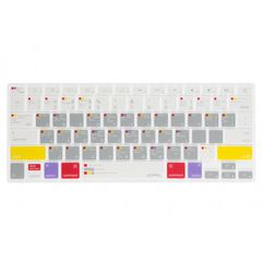 Phủ Phím Macbook JCPAL Verskin Learn Macbook 12/13 inch (Xám)