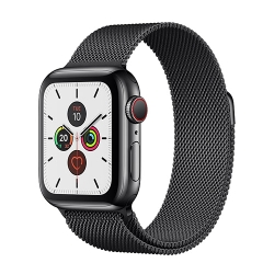 Apple Watch Series 5 Space Black Stainless Steel Case with Milanese Loop (GPS+CELLULAR)