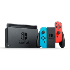 Máy chơi game Nintendo Switch with Neon Blue and Neon Red Joy‑Con New Model