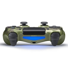 Tay cầm DualShock 4 Green Camouflage New (Slim Model)