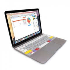 Phủ Phím Macbook JCPAL Verskin Learn Macbook 13/15 inch Retina