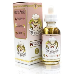 Mr Macaron Strawberry Cream E Juice - 60ml