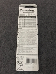 Camelion CR2025 (pin 3V)