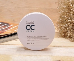 CC Cream Face It Aura Color Control Cream, SPF 30 PA +++ The Face Shop