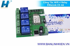 Công Tắc Wifi 4 Relay EWeLink CE-4A
