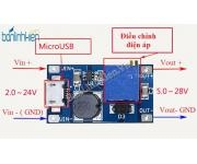 Module BOOST DC-DC Mini 5-28V