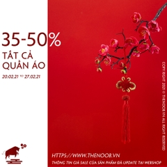 35-50% ALL CLOTHINGS - 20.02.2020