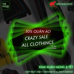 [Hết Hạn] 50% ALL CLOTHINGS - 01.02.2020