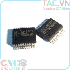 CH340T SSOP20 - USB to Serial Chip