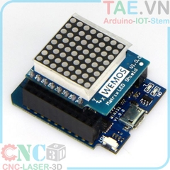 ESP8266 NodeMCU Lua D1 Mini Matrix LED 8x8 Shield