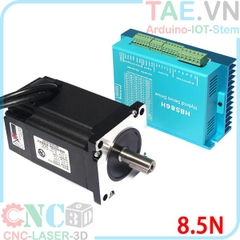Combo Stepper motor 86 8.5NM + Driver HBS86H