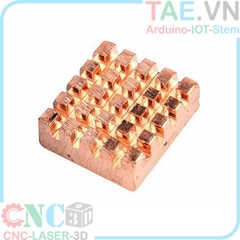 Copper Heat Sink For Raspberry Pi